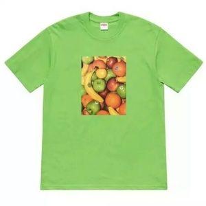 Supreme Fruit Tee Shortsleeve T-Shirt SS19T21